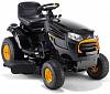 Садовый трактор - газонокосилка McCulloch M165-107T (USA, B&S, 500 см3, вариатор CVT, боковой выброс, ширина кошения 107 см., 200 кг.)