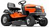 Садовый трактор - газонокосилка Husqvarna LT 154 (USA, B&S Intek, 500 см3, механика, боковой выброс, ширина кошения 97 см., 184 кг.)
