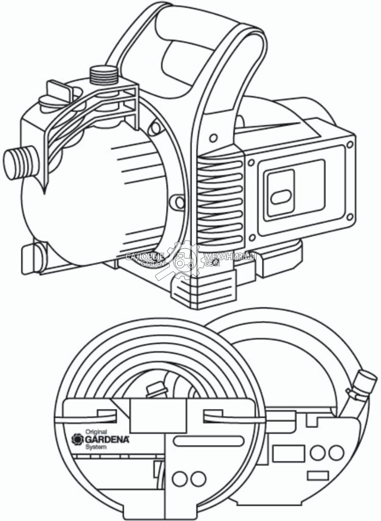 3000-4 Classic комплект от GARDENGEAR.RU