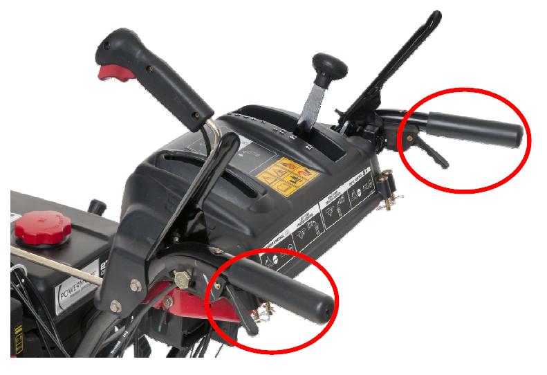 Курки разблокировки колёс снегоуборщиков MTD