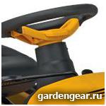 Садовый трактор Parton PA20H42LT место управления