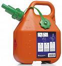 Канистра для топлива Husqvarna 6 л., оранжевая, с защитой от перелива